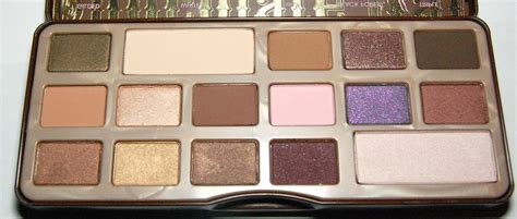 faced chocolate bar eyeshadow palette review swatch  review