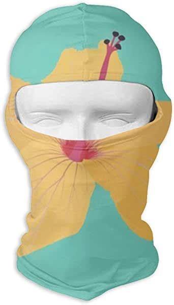 Balaclava Full Face Mask with Tropical Mint Hawaii