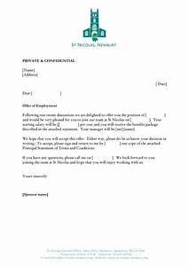 Job Offer Letter Template business letter template