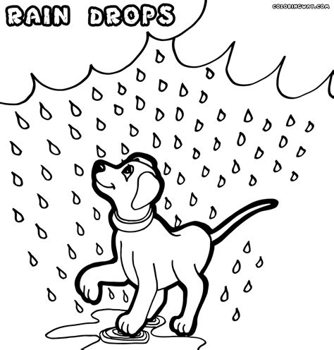 coloring pages rain  coloring pages  drawing