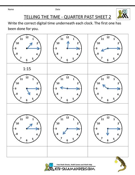 telling time worksheets grade 2 free clock problems for 2nd grade 2nd grade math worksheets