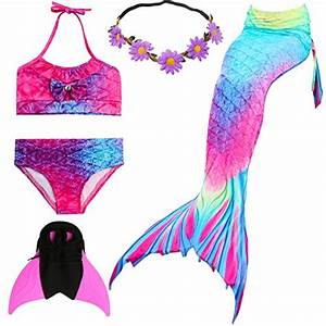Meerjungfrauen Schwanzflossen Für Kinder : bikinis in lila f r m dchen g nstig online kaufen bei ~ Watch28wear.com Haus und Dekorationen
