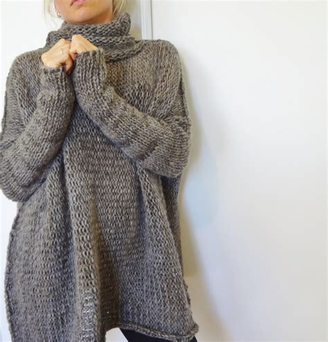 oversized sweater oversized chunky knit sweater slouchy bulky sweater