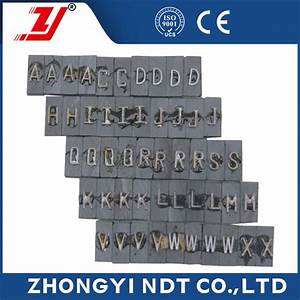 high quality industrial ndt x ray lead letter buy lead With x ray lead letters