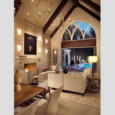 How To Decorate A Great Room With Cathedral Ceilings Www