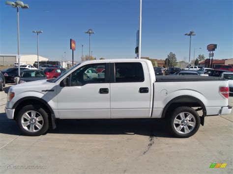 ford truck white oxford white 2010 ford f150 fx4 supercrew 4x4 exterior