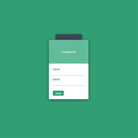 modal contact form coding html css web design ui design