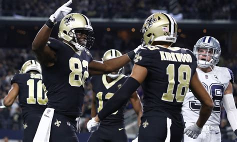 orleans saints inactives  nfc championship game