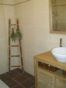 Salle De Bain Exotique : salle de bain photo 2 3 type exotique ~ Teatrodelosmanantiales.com Idées de Décoration