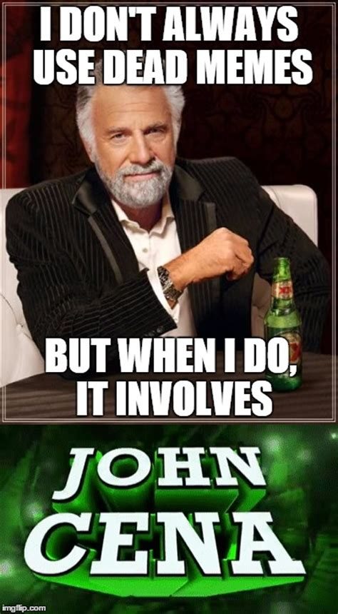 John Memes - interrupting john cena imgflip