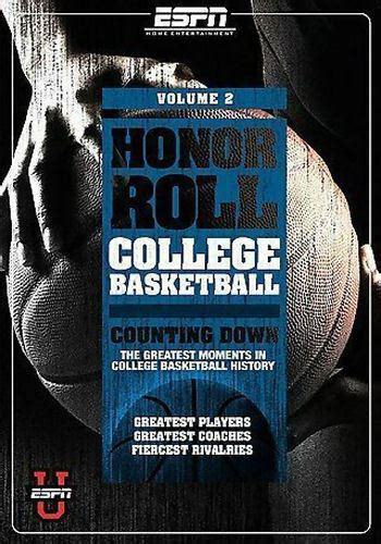 honor roll college basketball vol  dvd  good
