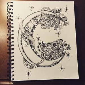 Cool moon doodle art | Art & Design Ideas | Pinterest ...