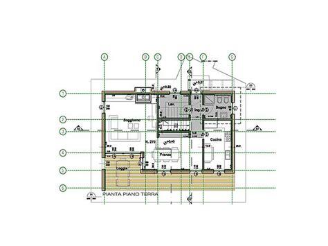Pianta Casa Unifamiliare by Progetto Casa Unifamiliare Geometra Ugo Guidi Lignius