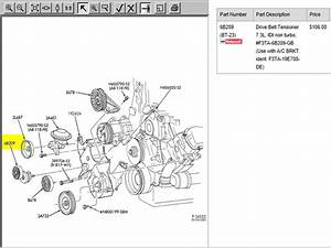 How Do I Replace The Belt Tensioner On A 1993 Ford F350