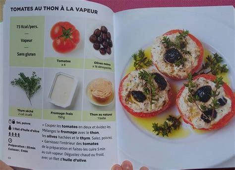 la cuisine a toute vapeur pdf tomates aux thon 224 la vapeur simplissime light