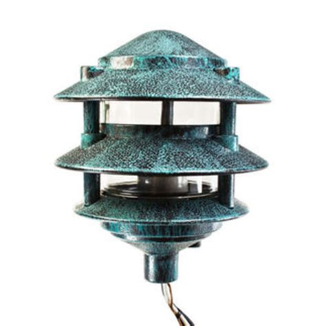 pagoda pathway light verde finish 120 volt plt