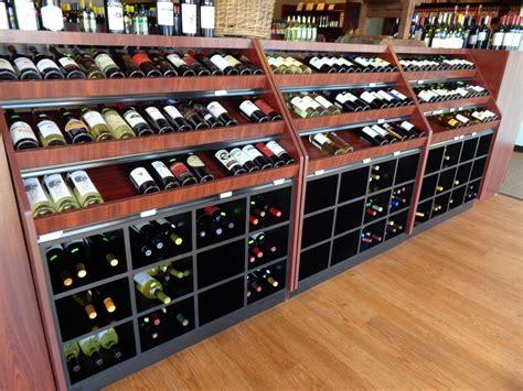 Wine Rack Display From Handy Store Fixtures Custom