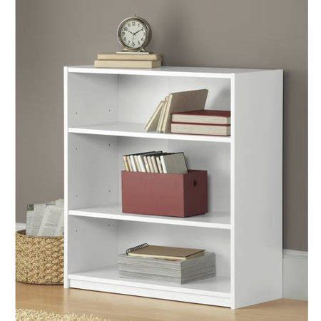 3 shelf bookcase walmart mainstays 3 shelf wood bookcase colors walmart
