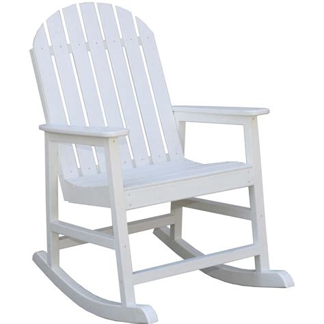 eagle one alexandria recycled plastic patio rocking chair
