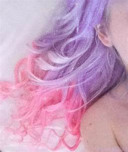 pastel pink and purple hair - Hair Colors Ideas