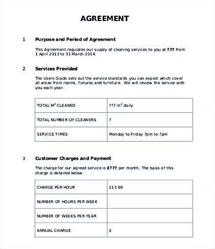 Service Level Agreement Template For It Support 32