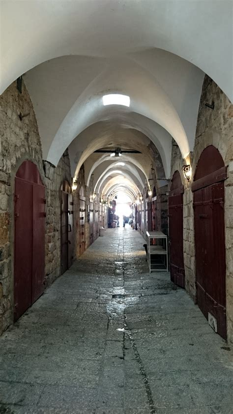 crusader fortress  city  acre northern israel