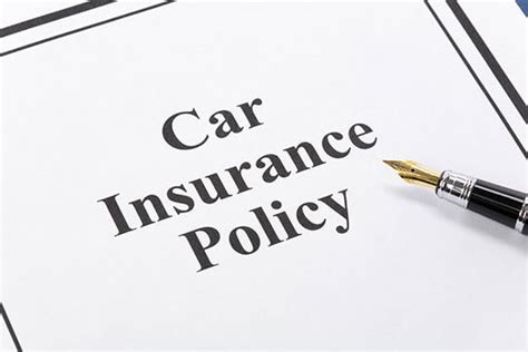 Car Insurance Policy Types Explained