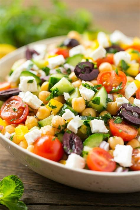 recipes for chopped chopped greek salad dinner at the zoo