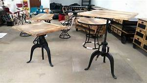 Esstisch Industrial Design : stehtisch tisch industrial design 76 cm esstisch bartisch bistrotisch massivholz ebay ~ Orissabook.com Haus und Dekorationen