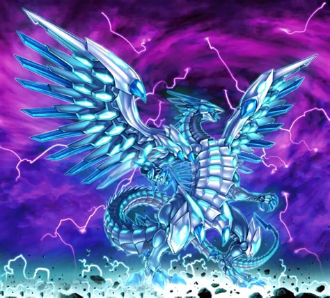 Blue Eyes Chaos Max Dragon Artwork By Alanmac95 On