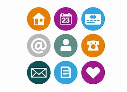 Personal Internet Need Companies Icons Safety Introduction