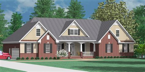 southern heritage home designs house plan    clayton