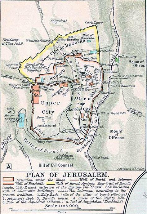 images  places pictures  info jerusalem map ancient