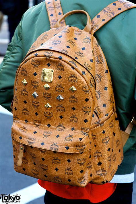 mcm backpack tokyo fashion news