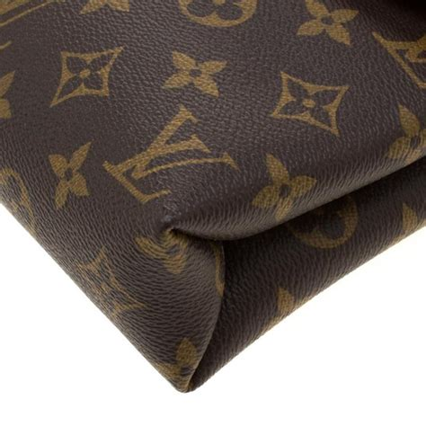 louis vuitton litchi monogram canvas pallas chain bag  sale  stdibs