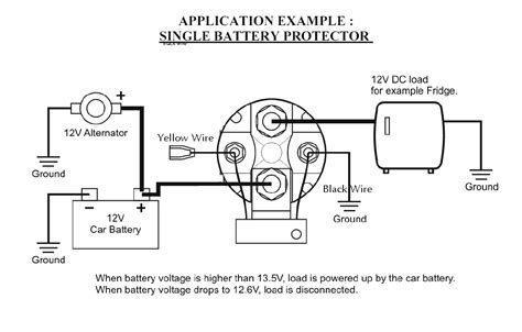robust inexpensive 12v 150 smart battery isolator and