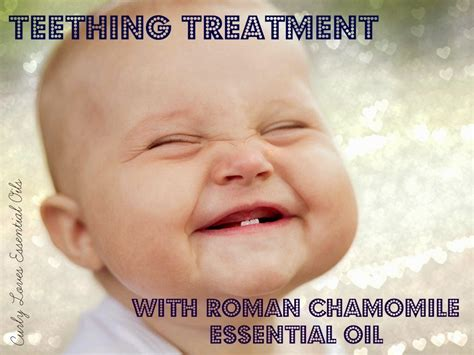 Curly Loves Essential Oils Teething Treatment With Roman