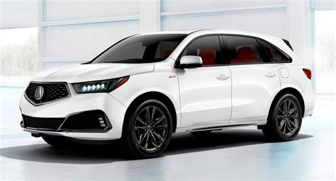 2019 Acura Models : 2019 Acura Mdx Becomes More Athletic With A-spec Model