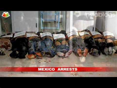 mexico drug war leader  gulf cartel zetas arrested