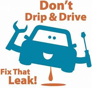 Car Is Leaking Orange Fluid In Manual