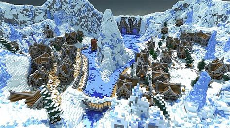 winters secret map minecraft