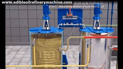 Water Degumming Oil Soybean Process Refining Method