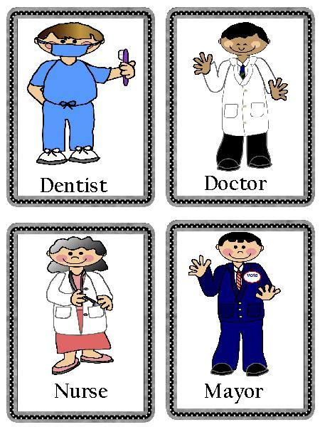 11541 community helpers pictures printables community helpers flash cards printable worksheets for all