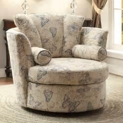 aurelia swivel accent chair w blue butterflies accent