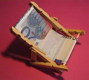 Liegestuhl Aus Geld : liegestuhl geldgeschenke verpacken witzige ideen zum ~ Lizthompson.info Haus und Dekorationen