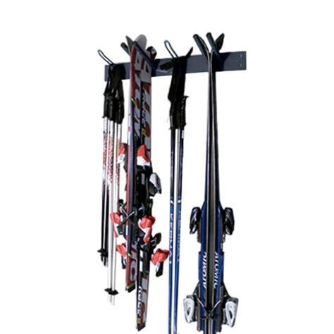 wall mounted ski ski poles ski holder for 4 pairs laboutiqueduski