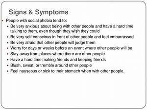 social anxiety disorder essay