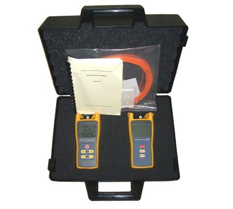 power meter light source test fiber optic optical power meter light source