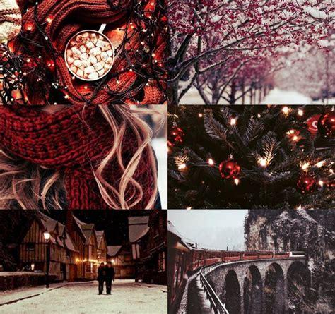 harry potter aesthetics gryffindor winter 1 2