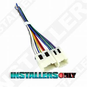 Aftermarket Car Stereo  Radio Wiring Harness  7550 Wire Adapter  Plug For Nissan